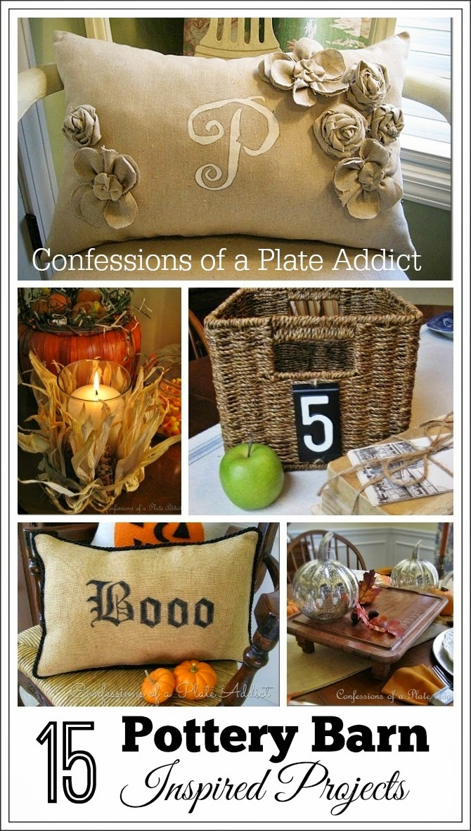 Confessions Of A Plate Addict 15 Pottery Barn Inspired