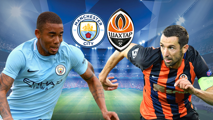 Manchester City vs Shakhtar EN VIVO por la UEFA Champions League