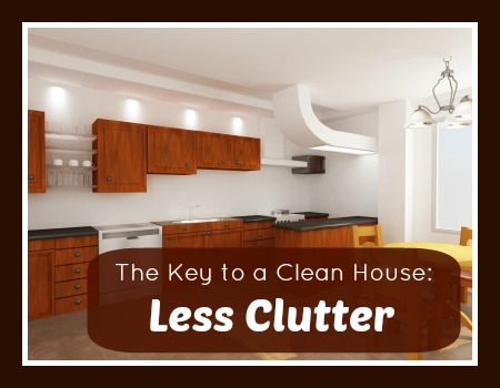 Key to a Clean House: Less Clutter - chieffamilyofficer.com