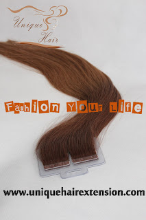 balayage hair extensions weft