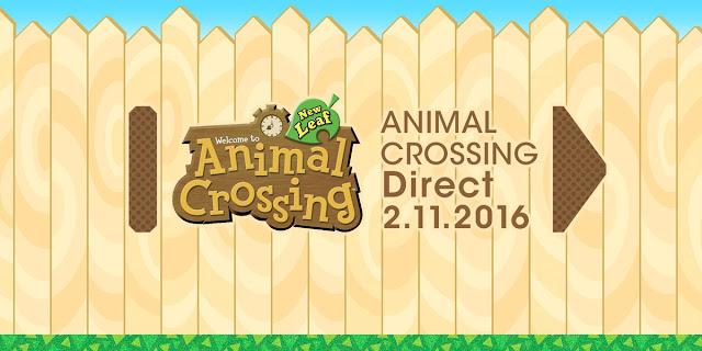 Se concreta la fecha de un Nintendo Direct enfocado a Animal Crossing: New Leaf 1