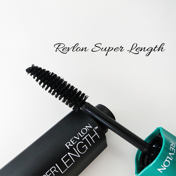 Close-up of the brush on Revlon Super Length Mascara