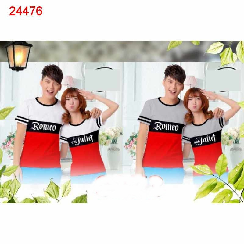 Jual Baju Couple Romeo Kombinasi - 24476