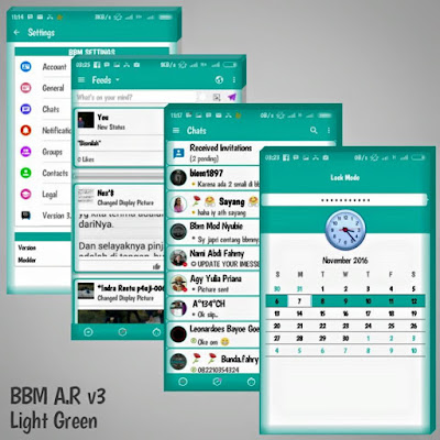 BBM Mod AR v3 Light Green