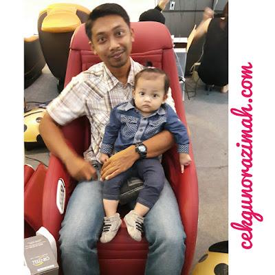 kerusi urut gintell, gintell malaysia, gintell, simon yam, kerusi urut gintell de' space U.F.O, hari ibu, A Memorable Mother's Day with Simon Yam