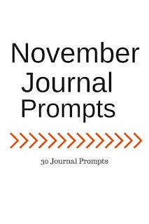Life of Lovely: November Journal Prompts + Printable