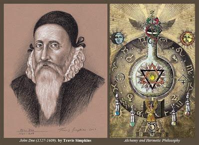 Dr. John Dee. Alchemy and Hermetic Philosophy. Enochian Ceremonial Magick. by Travis Simpkins