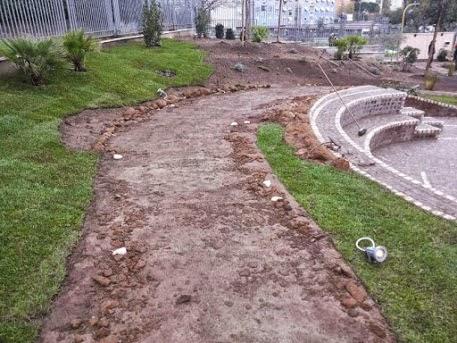 ricostruzione giardino