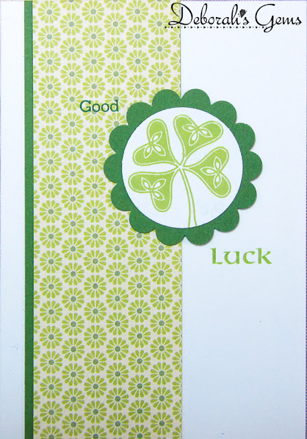 Good Luck - photo by Deborah Frings - Deborah's Gems