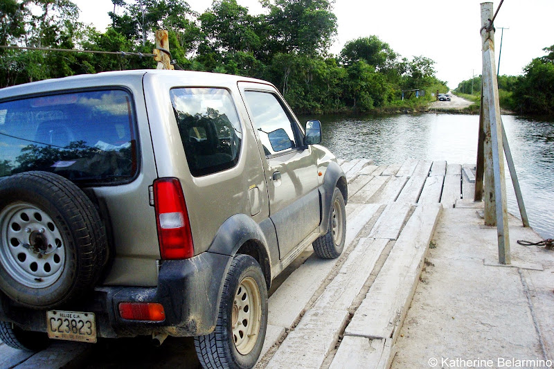 Belize Hand-Crank Ferry