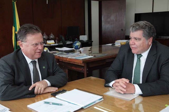 O Ministro da Agricultura, Blairo Maggi à Revista Globo Rural: acordo de Paris custará ao Brasil U$ 40 bilhões, ou R$ 136 bilhões.