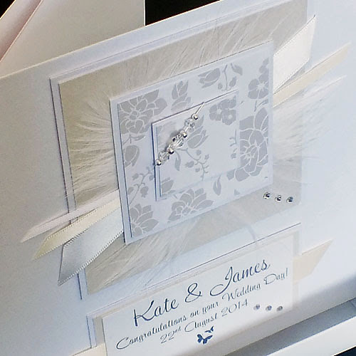 Handmade Wedding Day Cards