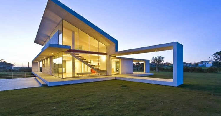 DESIGN RUMAH KACA | Model Rumah Modern