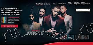 Promoção Bradesco Music Imagine Dragons