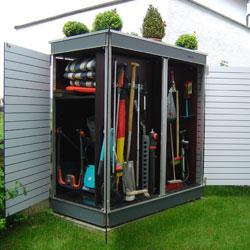 garten q moderne gartenh user gartenschr nke m llboxen und unterst nde april 2013. Black Bedroom Furniture Sets. Home Design Ideas