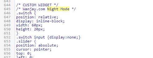 atau Mode Malam atau Modus Malam atau apalah itu Cara Membuat Tampilan Dark Mode (Gelap) Pada Template di Blog