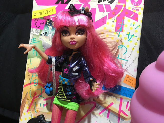 boneca Howleen monster high customizada