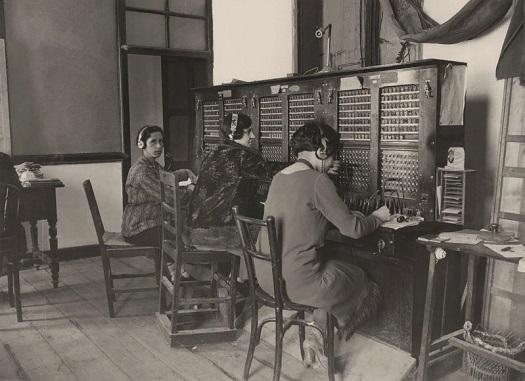 Archivo fotográfico Fundación Telefónica - fotos 1924-1931 | imagenes nostalgicas, documentales en blanco y negro telefonia