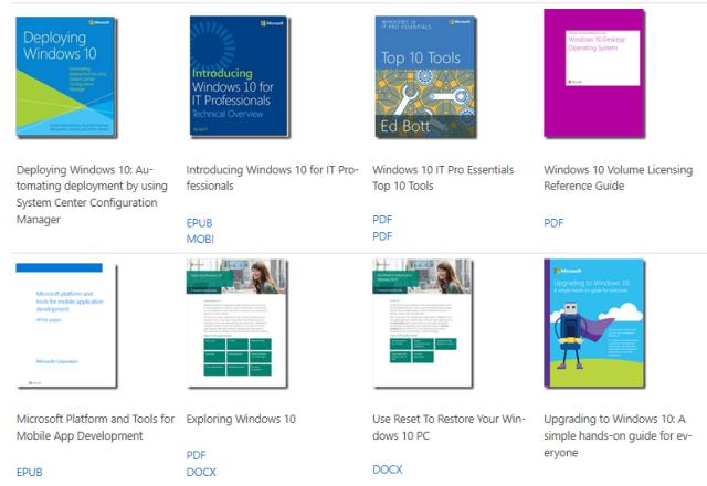 Descarga Más De 240 Libros De Microsoft Totalmente Gratis