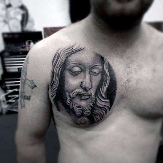 Christian chest Tattoos