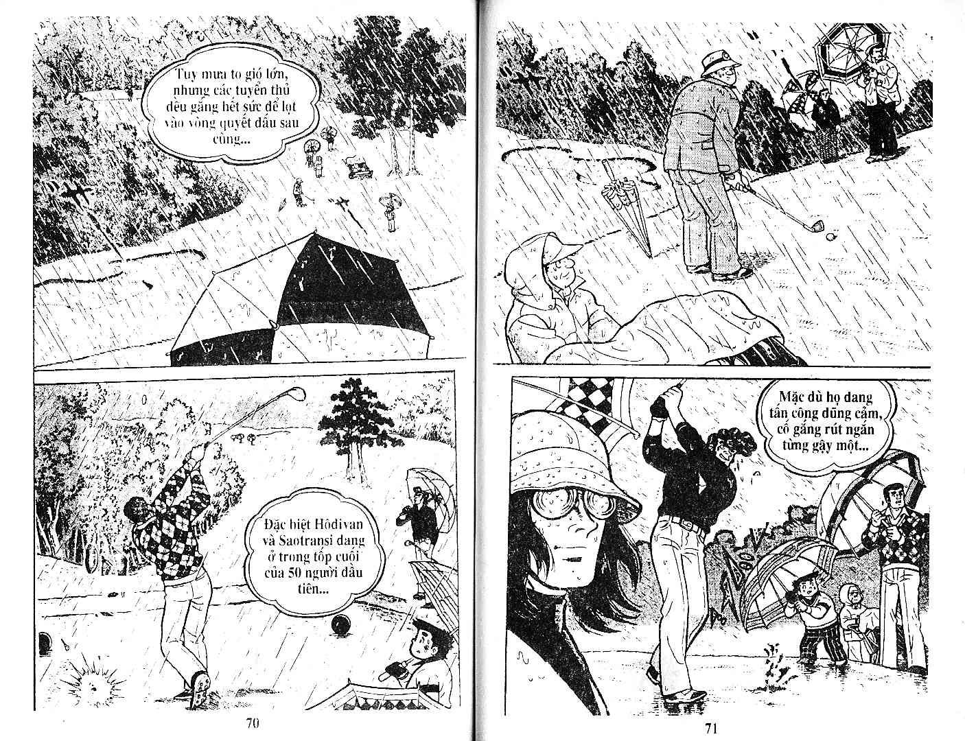 Ashita Tenki ni Naare chapter 27 trang 34