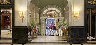 savoy hotel london lobby 5 star