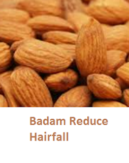 Health Benefits of Almond or Badam Reduce Hairfall