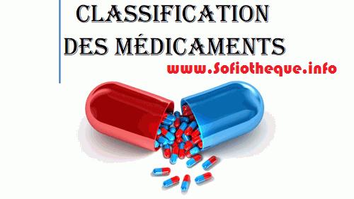 Télécharger | Classification des Médicaments livre PDF