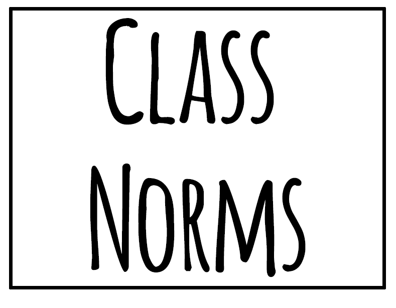 Math = Love: Class / Group Work Norms Poster Set (Free