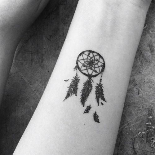 Zeer Vaak Dromenvanger Tattoo Klein UG95 | Belbin.Info @ZB67