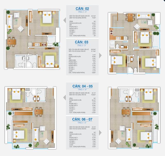 Thiết kế căn hộ chung cư FLC Star Tower
