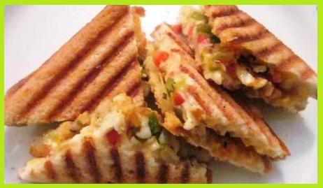 पनीर सैंडविच बनाने की रेसिपी - Paneer Sandwich Recipe in Hindi
