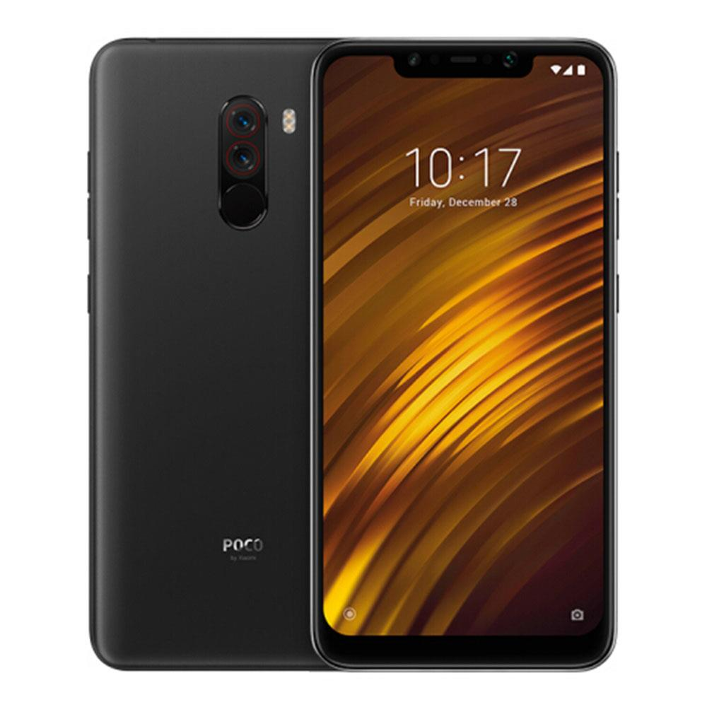 [Germany Stock][Official Global Version]Xiaomi Pocophone F1 6.18 Inch 4G LTE Smartphone Snapdragon 845 6GB 128GB 12.0MP+5.0MP Dual Rear Cameras MIUI IR Face Unlock Type-C Fast Charge - Graphite Black
