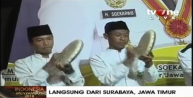 Jelang Tahun Baru, Kota Surabaya Isi Dengan Dzikir, Do'a Bersama dan Tabuh Rebbana