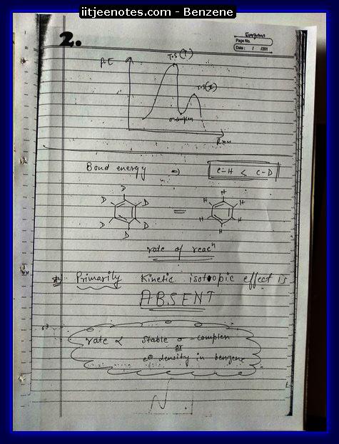 Benzene Notes2