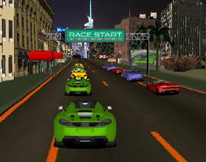 العاب سباق الشارع