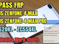 HOW TO BYPASS FRP LOCK ASUS ZENFONE 4 MAX | ZENFONE 4 MAX PRO ANDROID NOUGAT 7.1