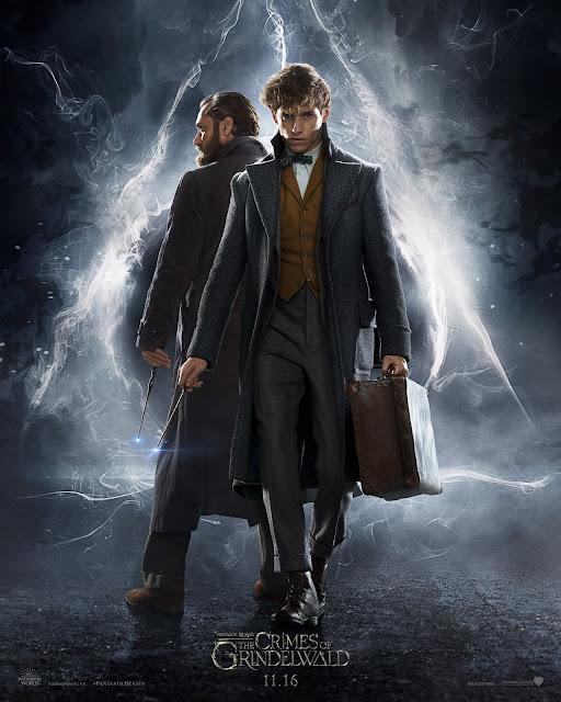Primeiro pôster de 'Os Crimes de Grindelwald' mostra Dumbledore e Newt | Ordem da Fênix Brasileira