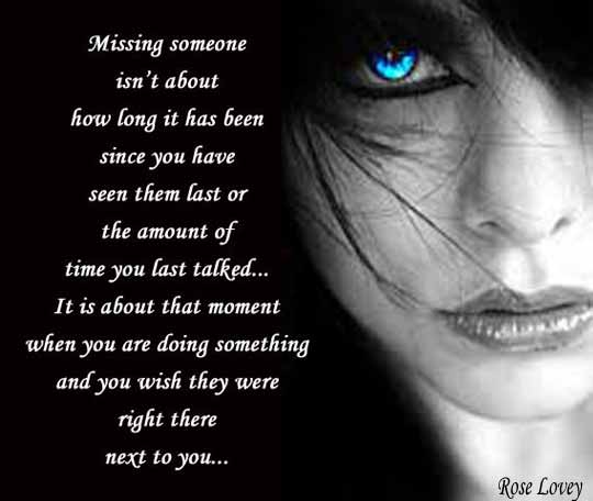 Miss You Sad Love Quotes: Best Love Quotes Of The Day: Missing You Quotes