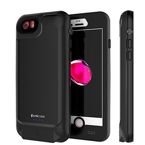 big sale 5fa6e 2a7a0 Punkjuice iPhone 8/7/6s/6 Battery Case - Waterproof Slim Portable Power  Juice Bank W/ 3000mAh High ...
