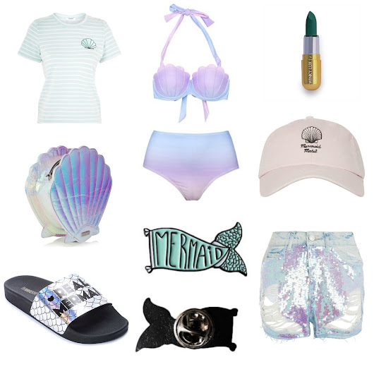 British Mermaid | UK Fashion and Personal Style Blog: How To Look Like A Mermaid For Summer '17