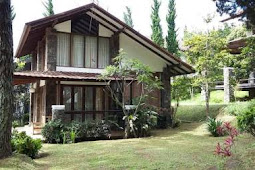 Villa Kecil Untuk Beberapa Orang Di Lembang