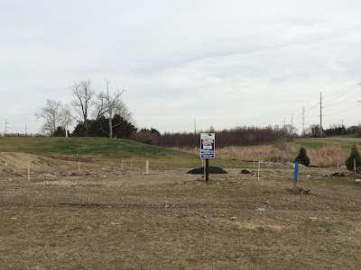 Ryan Homes lot Staked