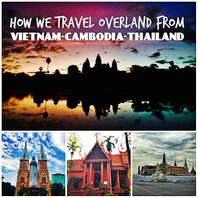 How we travel overland from Vietnam to Cambodia to Thailand. This is how we travel overland from Ho Chi Minh City to Phnom Pehn to Siem Reap to Bangkok