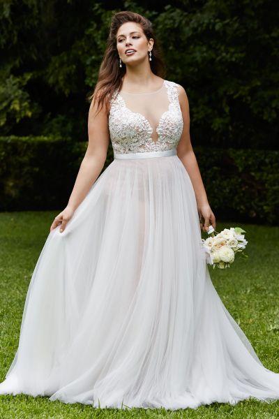 Vestidos de novia tallas grandes ¡15 Alternativas increíbles!