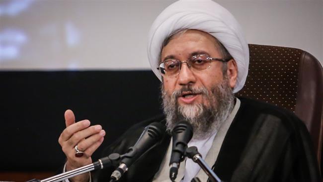 Don't test Iran's defensive power : Judiciary Chief Ayatollah Sadeq Amoli Larijani