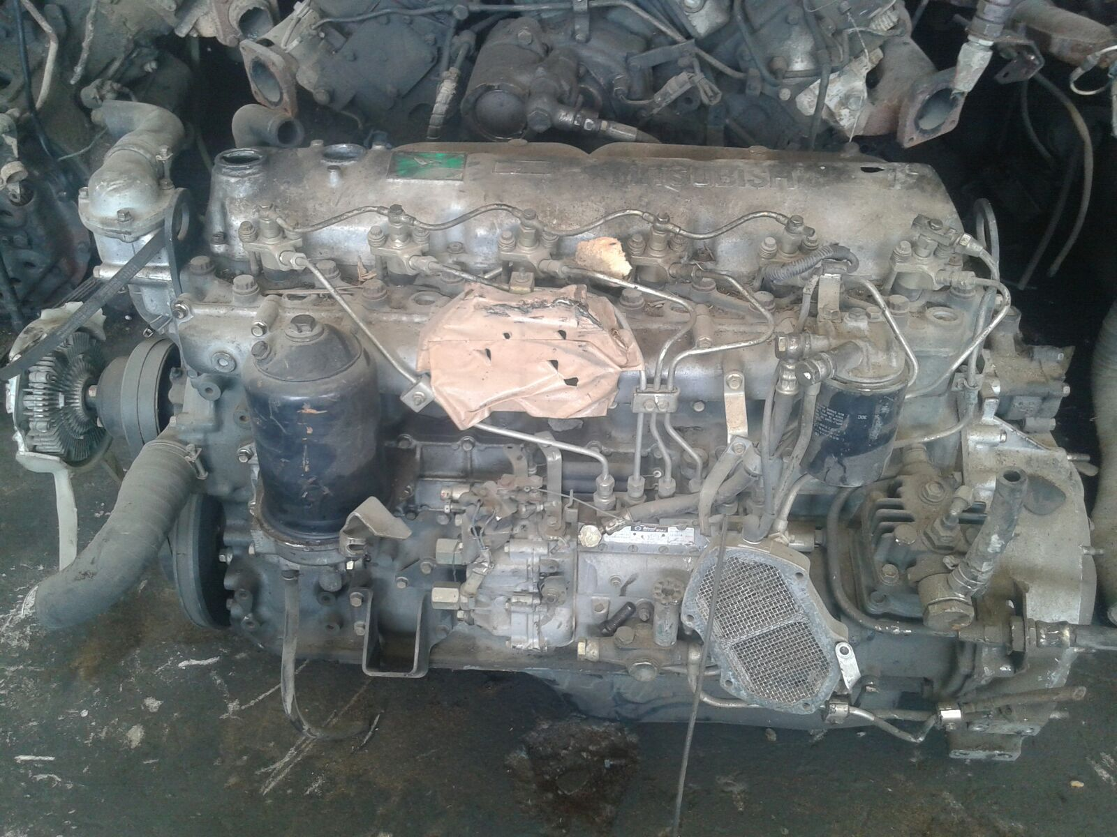Mitsubishi 6d16 1a Manual