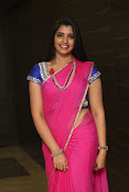 syamala sizzling saree stills-thumbnail-1