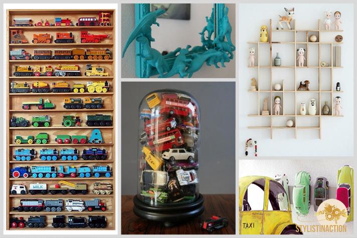 Objetos infantiles enmarcados + DIY - ideas pinterest para hacer con los chicos -  post by Styistinaction