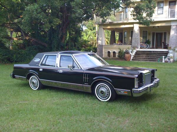 1983 lincoln continental mark vi mint only 10 000 miles. Black Bedroom Furniture Sets. Home Design Ideas